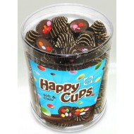 Happy ICE Cups WITH Milk Chocolate Dragees FULL TUB 120 PCS